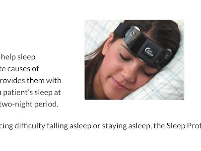 Sleep Profiler Technology
